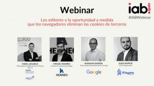 WEBINAR: Los editores y la oportunidad a medida que los navegadores eliminan las cookies de terceros